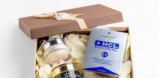 Bộ sản phẩm trắng da mờ thâm nám cao cấp Sakura Nhật Bản